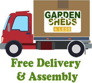 Garden Sheds 4 Less Free Delivery & Assembly