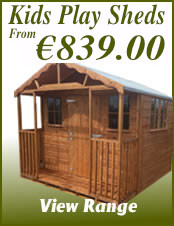 Kids Play Sheds