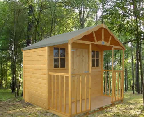 Summer Chalet Range 16ft x 8ft