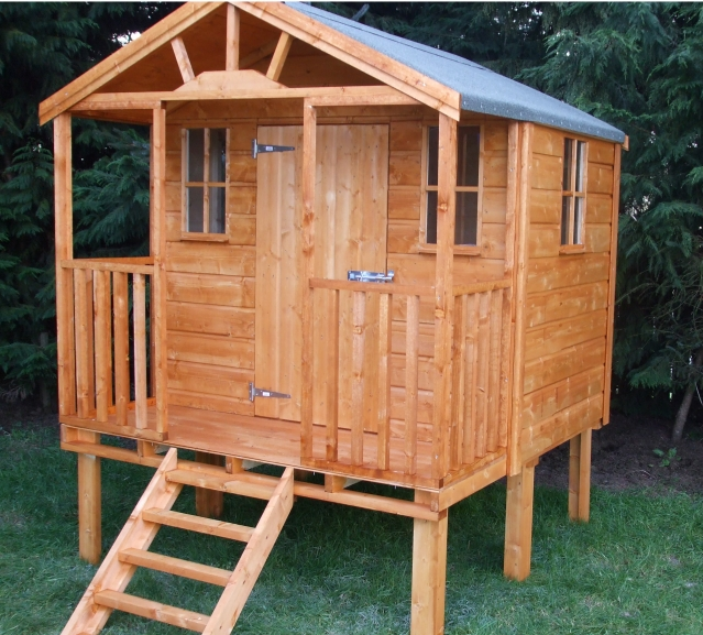 Kids Tree House Range 8ft x 8ft