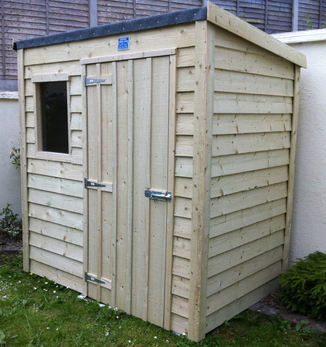 Overlap Lean To Range 8ft x 6ft